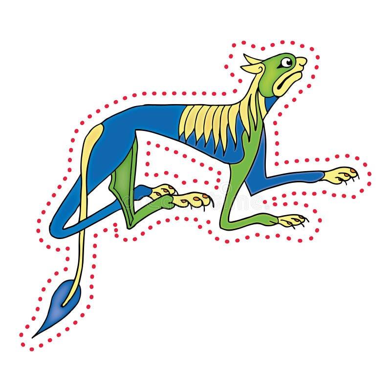 Irish Dog. Vector illustration - eps file format royalty free illustration