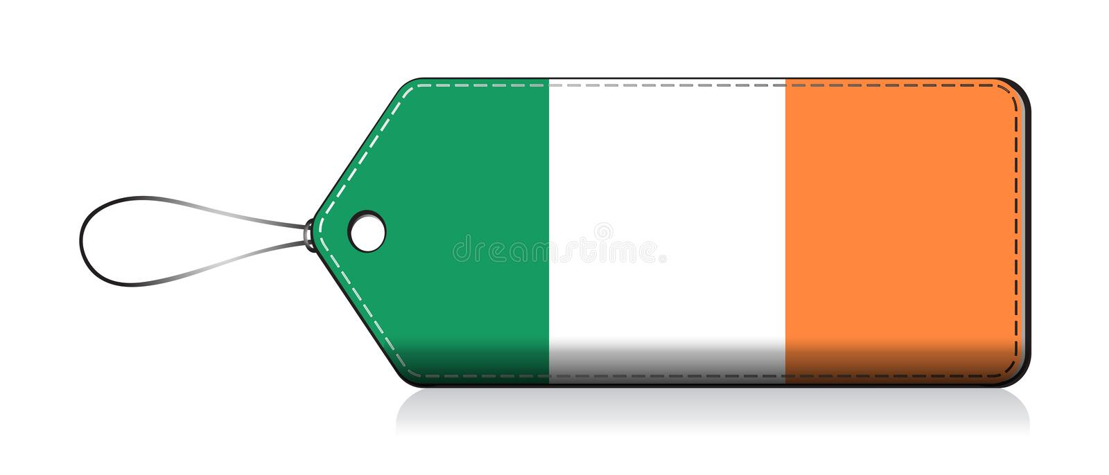 Irish Emoji Flag Label Flag Of Product Made In Ireland Stock Vector Illustration Of Graphic Country 168989039