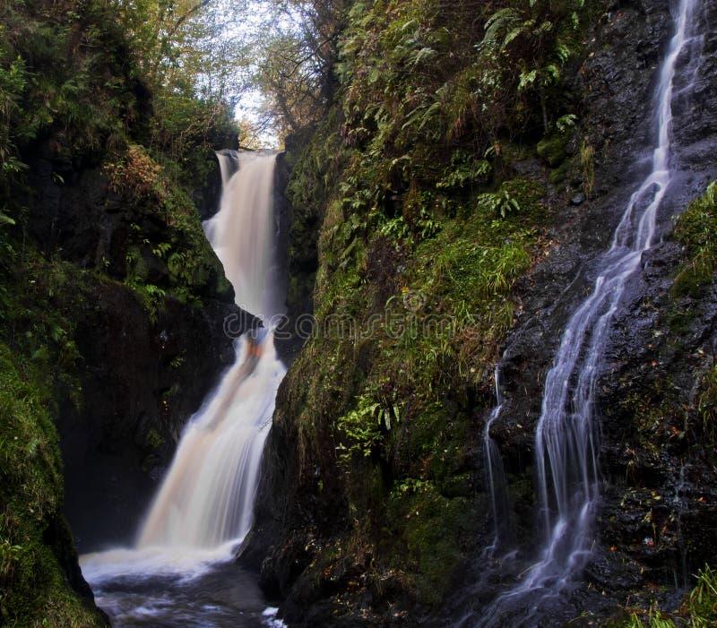 Irish Fairytale Waterfall royalty free stock photo