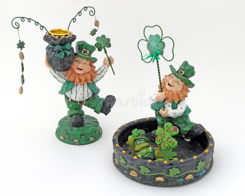 Irish Figures royalty free stock photo