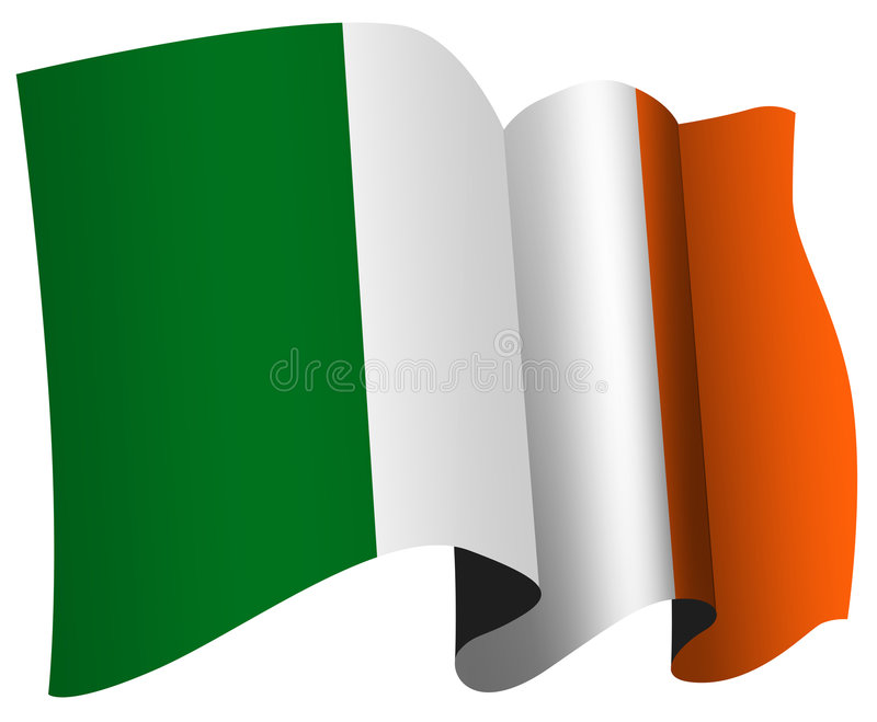 Download Irish flag stock illustration. Illustration of ireland - 2393942
