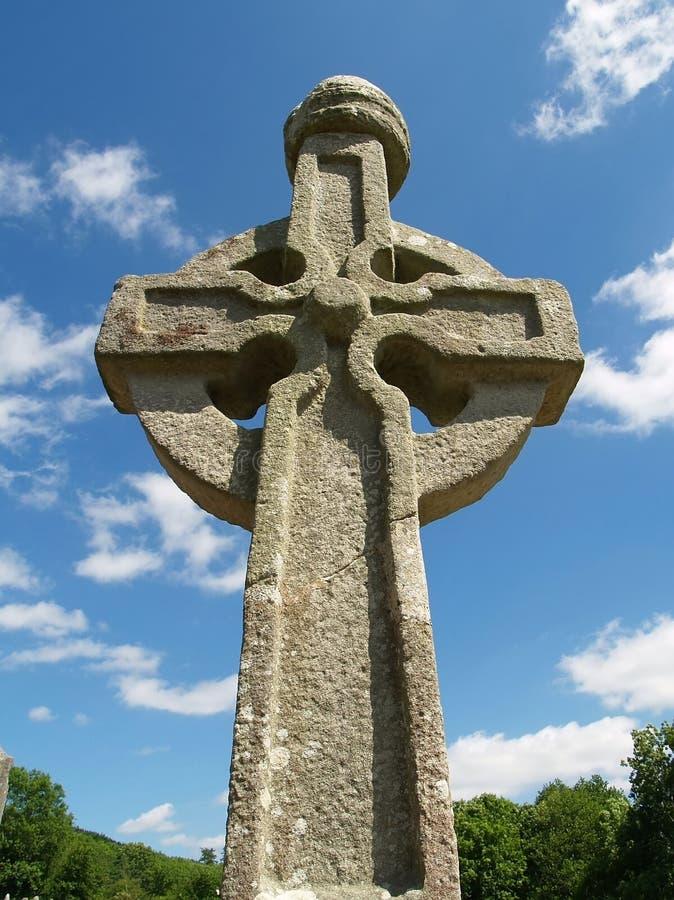 Irish High Cross royalty free stock photography