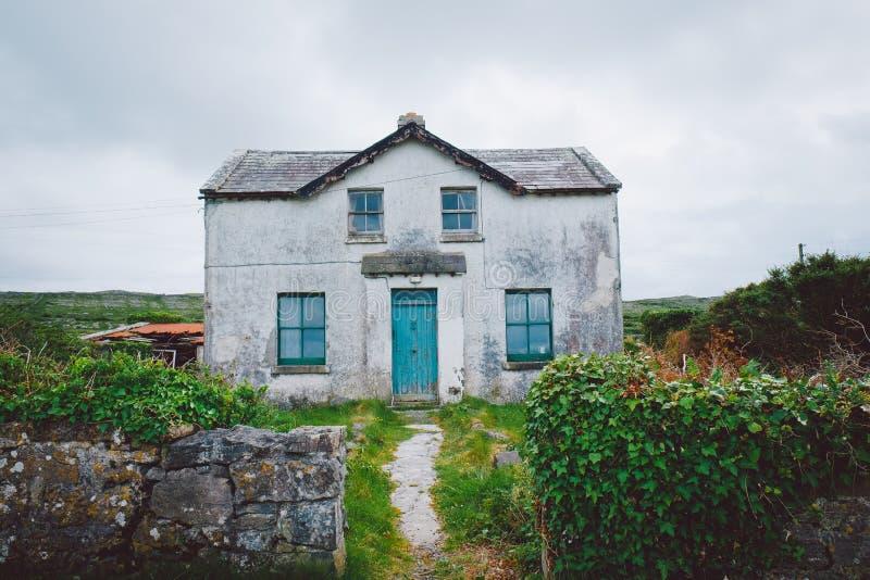 Irish House, Aran Islands. An old Irish house on the Aran Islands royalty free stock photos
