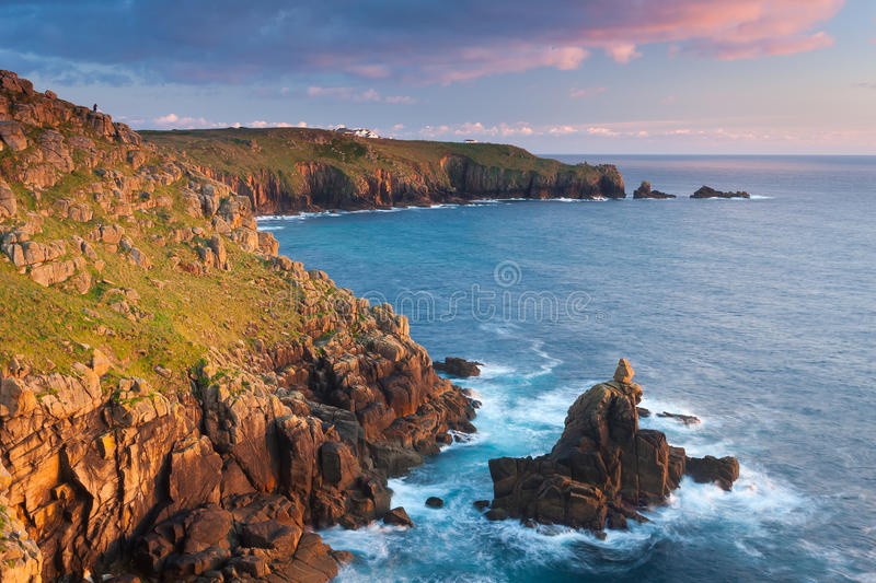 Download Irish Lady At Sennen Cove Royalty Free Stock Image - Image: 34047206