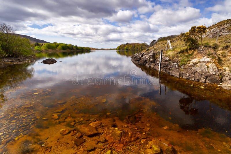 Download Irish lake scenery stock image. Image of ireland, landscape - 24529031