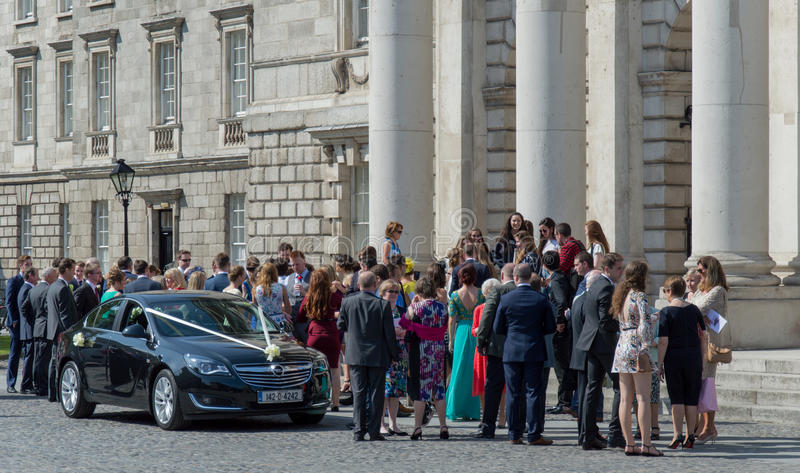 Irish Marriage stock image