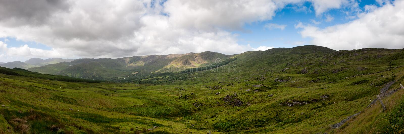 Download Irish panorama stock photo. Image of panoramic, green - 15672390
