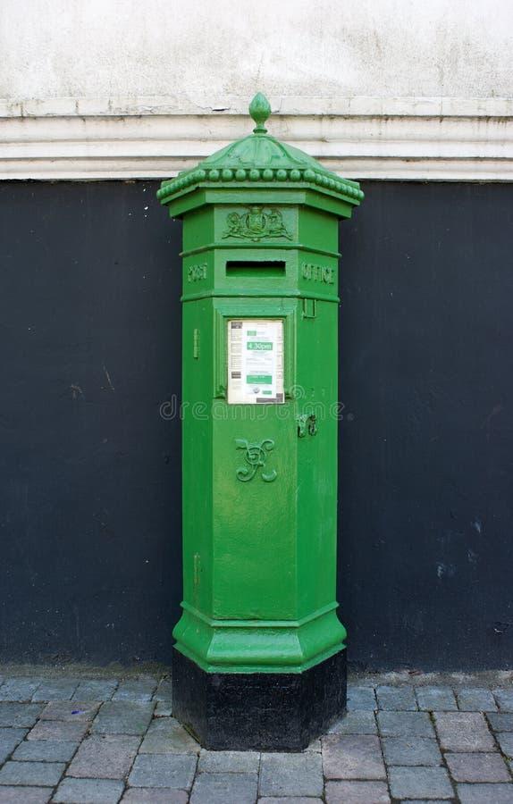 irish postbox στοκ εικόνα