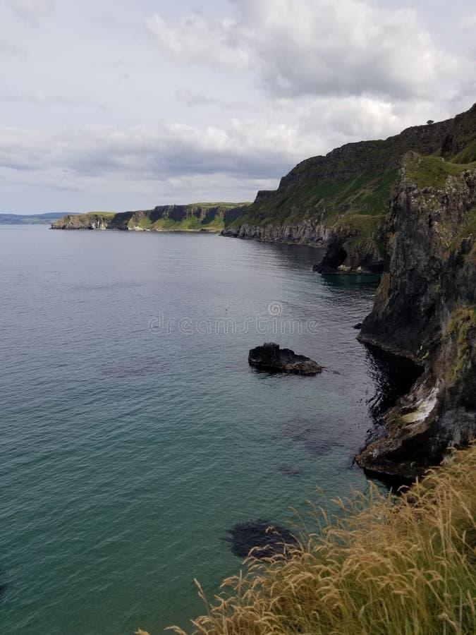 Irish roots. Coastline ireland travel northern northernireland bluewater royalty free stock photo