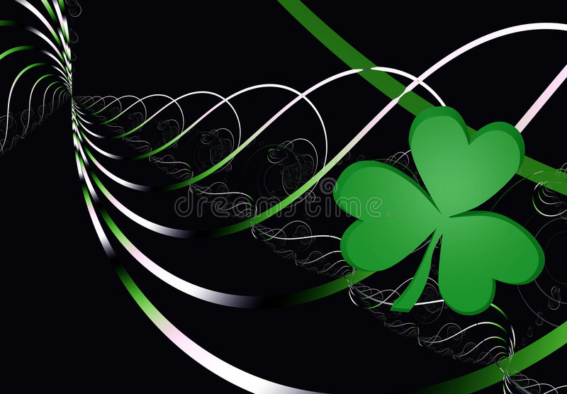 Irish Song stock illustration