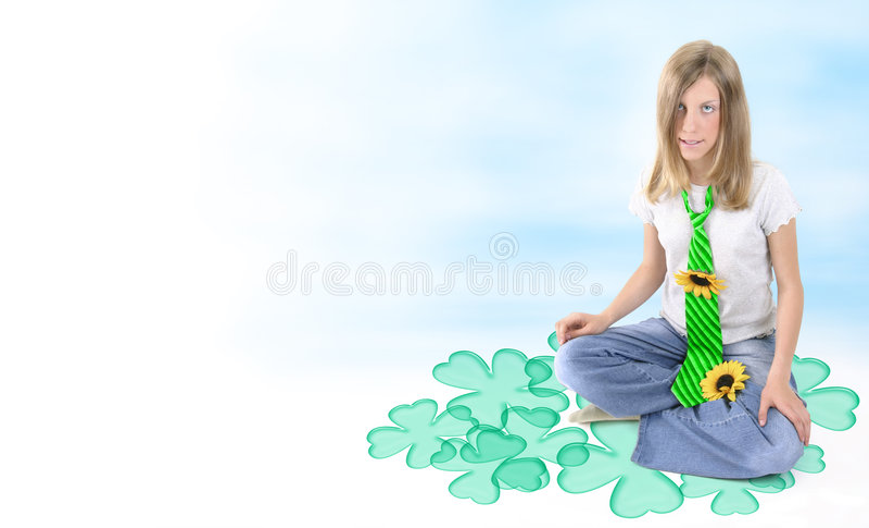Irish Spring! stock photo