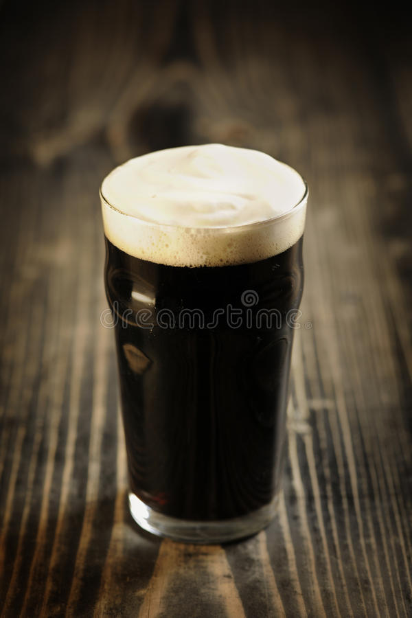 Irish Stout beer royalty free stock images