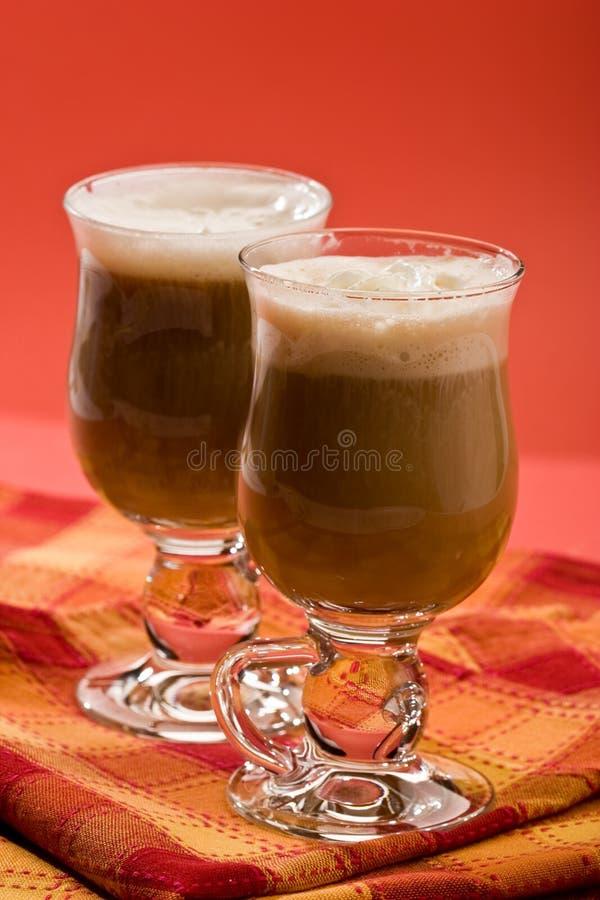 Irishcoffee lizenzfreie stockbilder