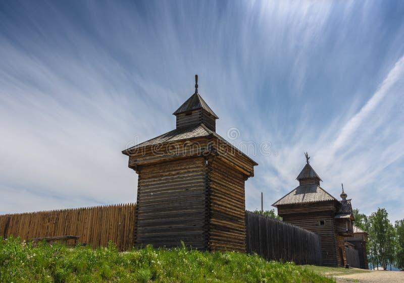 Irkutsk Region, Taltsy, Museum of Ancient Zotchestvo, June 2019 royalty free stock photos