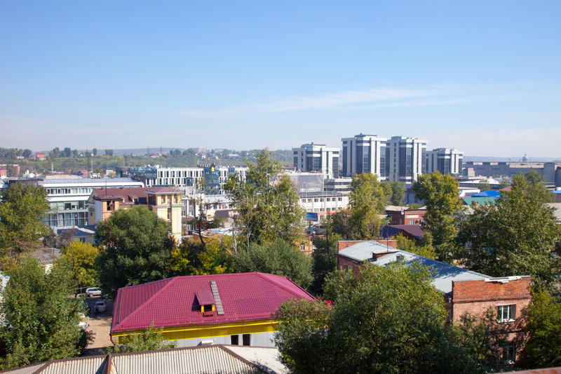 Irkutsk, Rusia imagenes de archivo