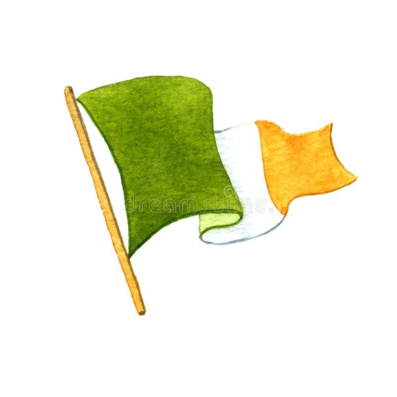 Irländare sjunker vektor illustrationer