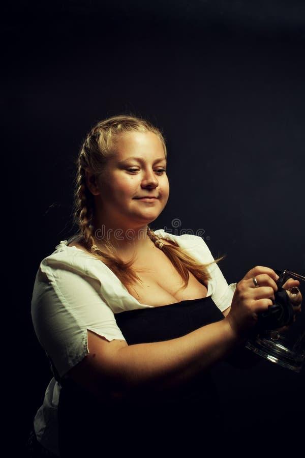 Irländsk flicka fotografering för bildbyråer