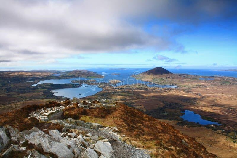 Irländsk Shoreline royaltyfria foton