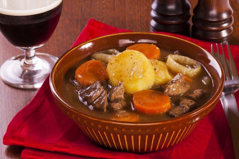 irländsk stew arkivbilder