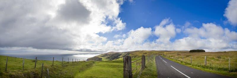 Irland auf der Straße lizenzfreie stockfotografie
