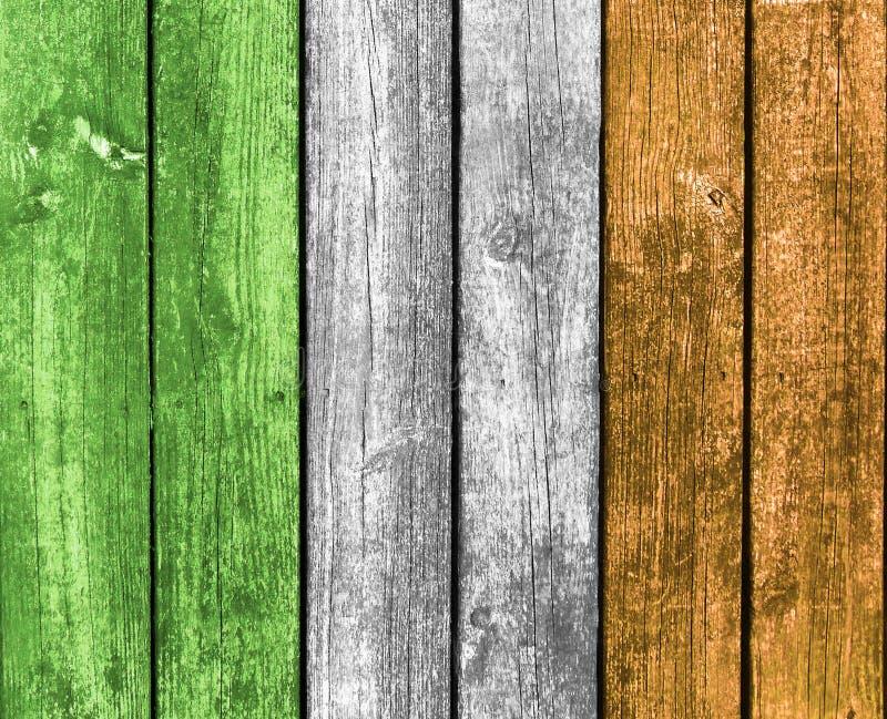 Irland flaggaträbakgrund arkivbilder