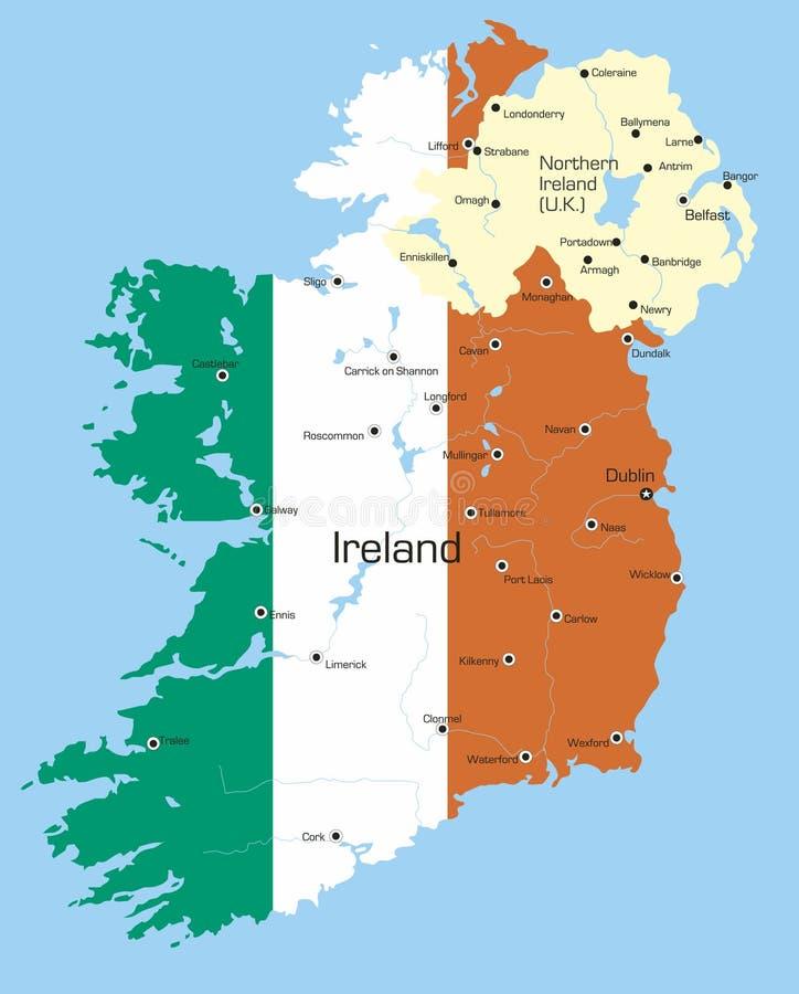 Irlanda stock de ilustración