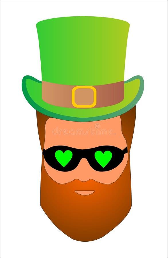 Irlanda celebra el día de St Patrick el 17 de marzo libre illustration
