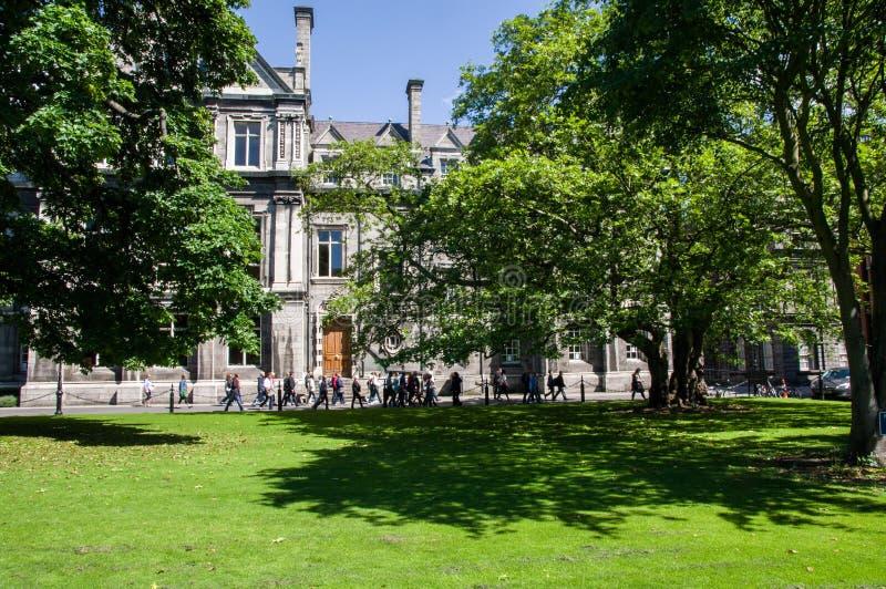irlanda dublín Universidad de la trinidad foto de archivo libre de regalías