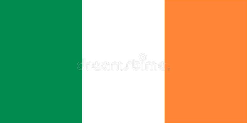 Irlandczyk flaga royalty ilustracja