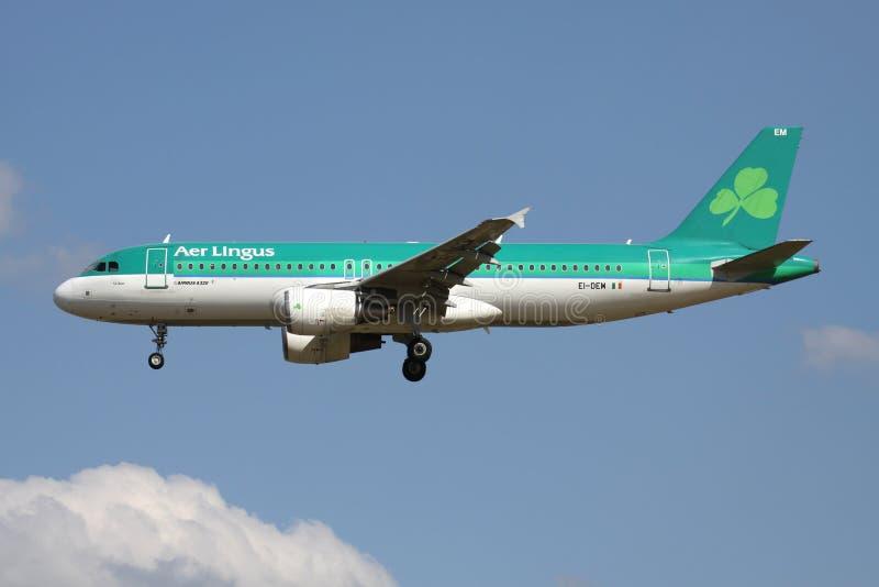 Irlandczyka Lotniczy lingus A320-200 obraz stock