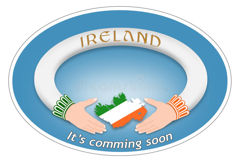 Irlandczyka pierścionek zdjęcie stock
