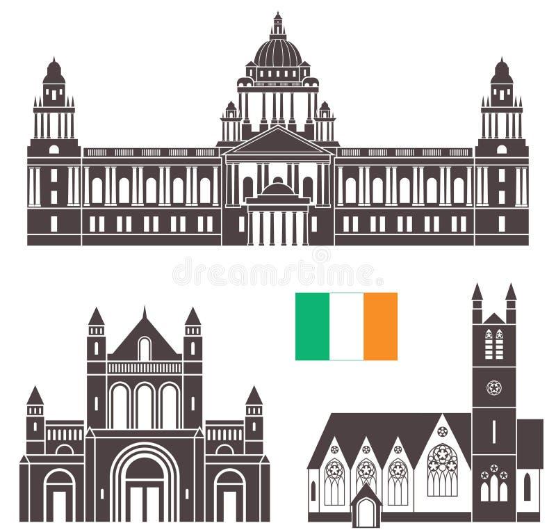 Download Irlandia ilustracja wektor. Ilustracja złożonej z city - 57670411