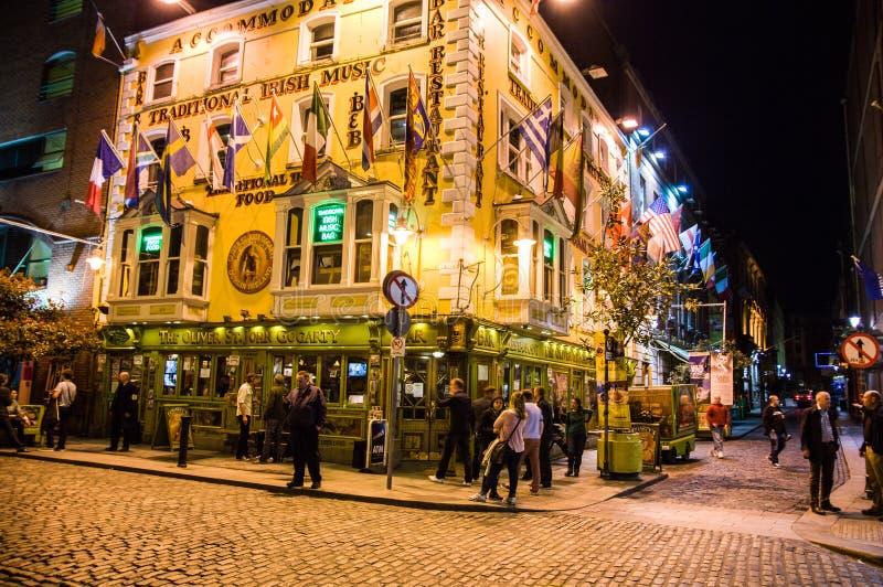 Irlandia dublin zdjęcie royalty free