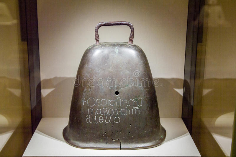 Irlandia dublin Muzeum Narodowe Irlandia archeopteryks obrazy royalty free