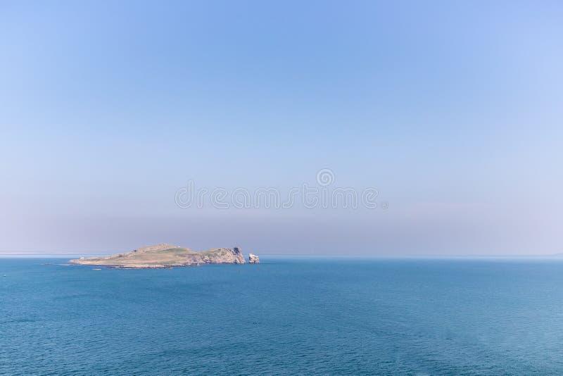 Irlandia oczu wyspa w Howth zdjęcie stock
