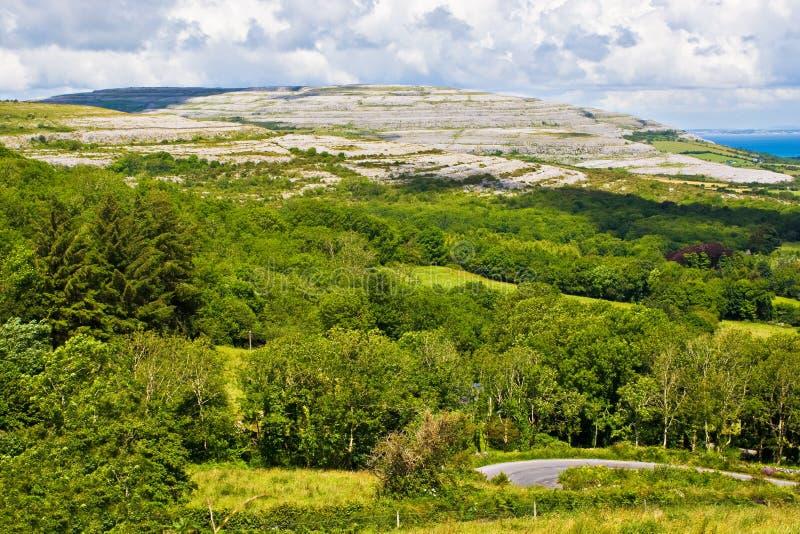 irlandia północna krajobrazu zdjęcie royalty free