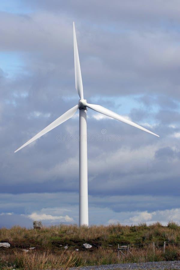 irlandia północna turbiny wiatr fotografia stock