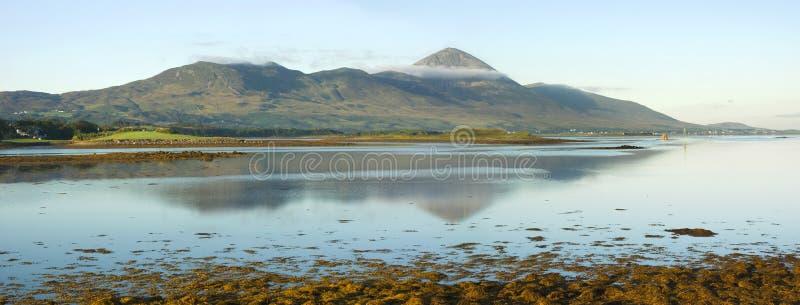 Irlands heiliger Berg stockfotos