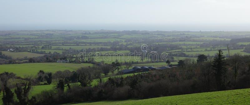 irlandzcy krajobrazy zdjęcie stock