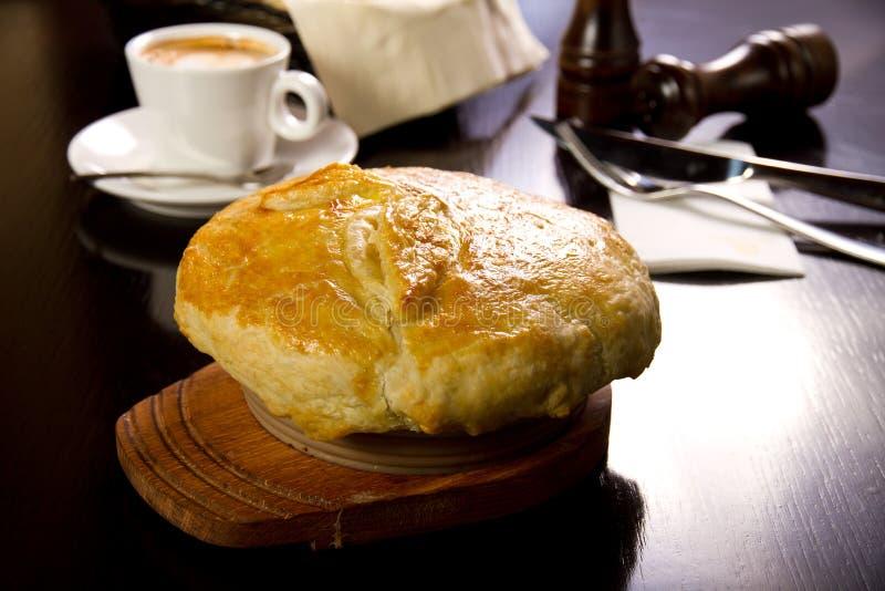 Irlandzki kulebiak zdjęcie stock