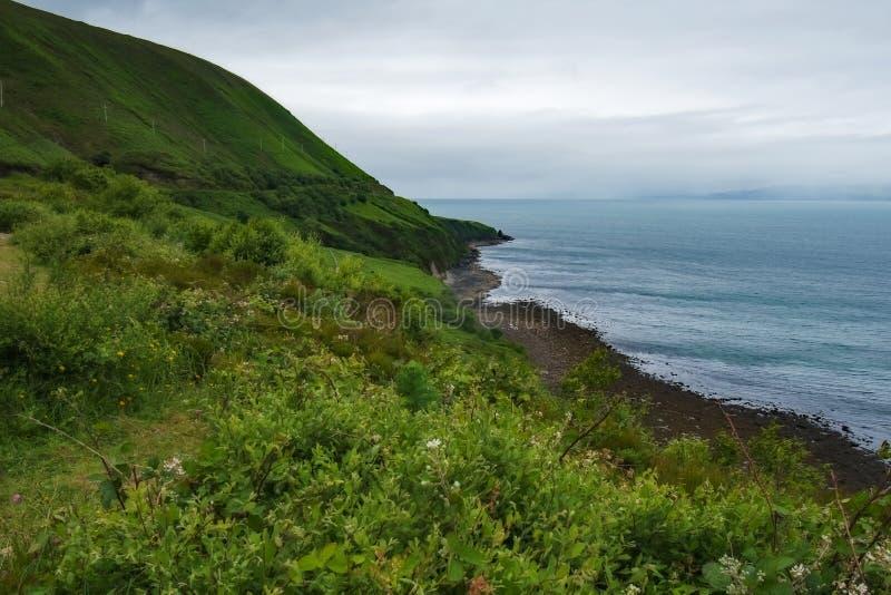 Irlandzki linia brzegowa pierścionek Kerry zdjęcie stock