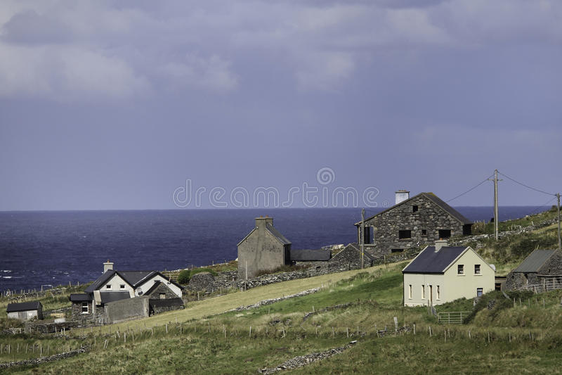 Irlandzki nadmorski zdjęcie stock