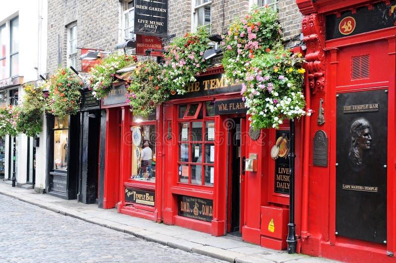 Irlandzki pub zdjęcia royalty free
