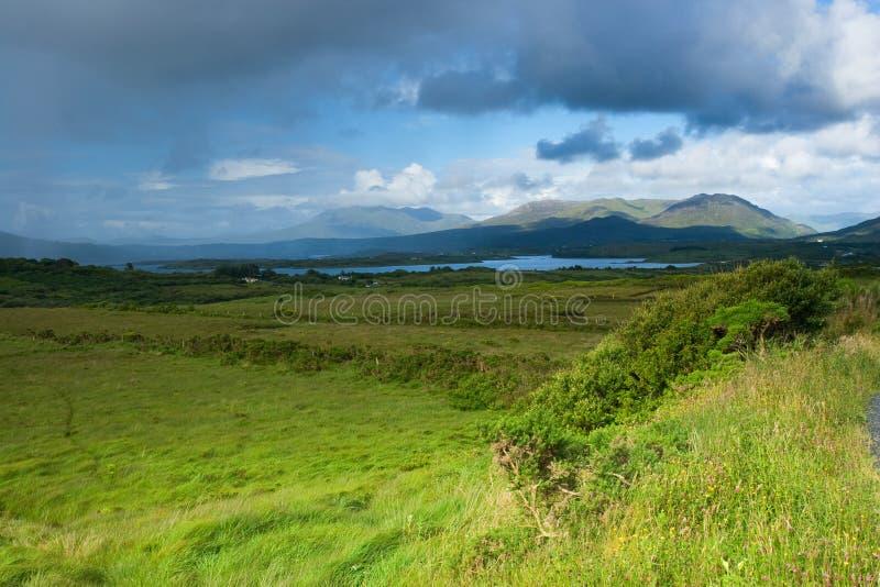 irlandzkie góry zdjęcia royalty free