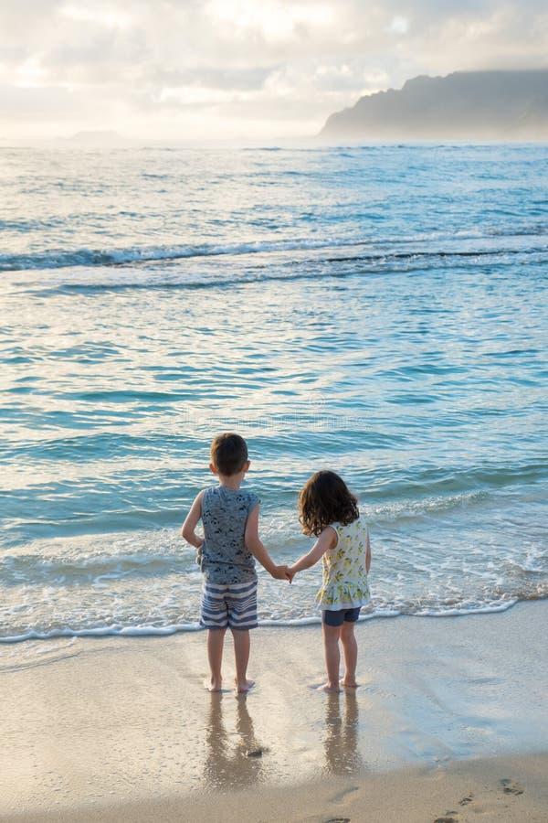 Irmão e irmã Siblings Lifestyle Portrait imagem de stock