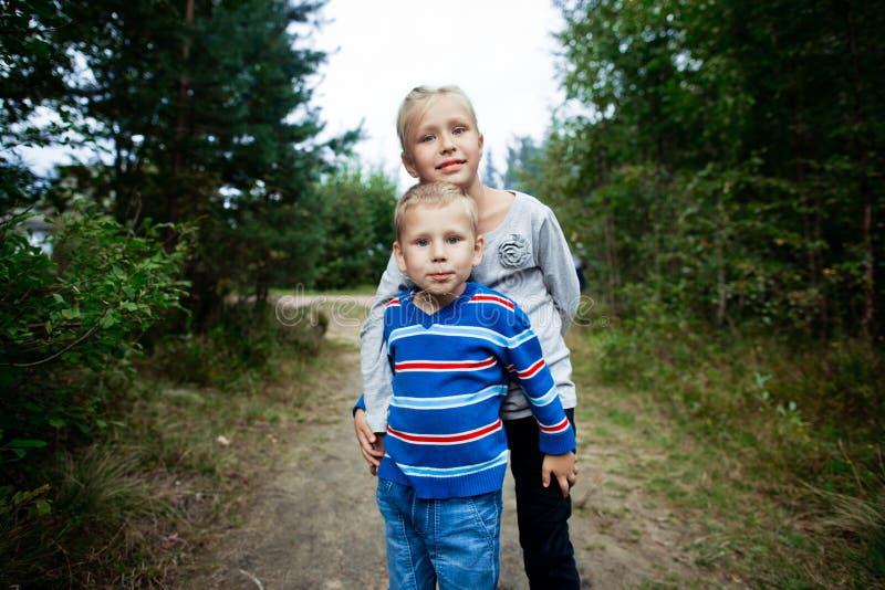Irmão And Sister fotografia de stock