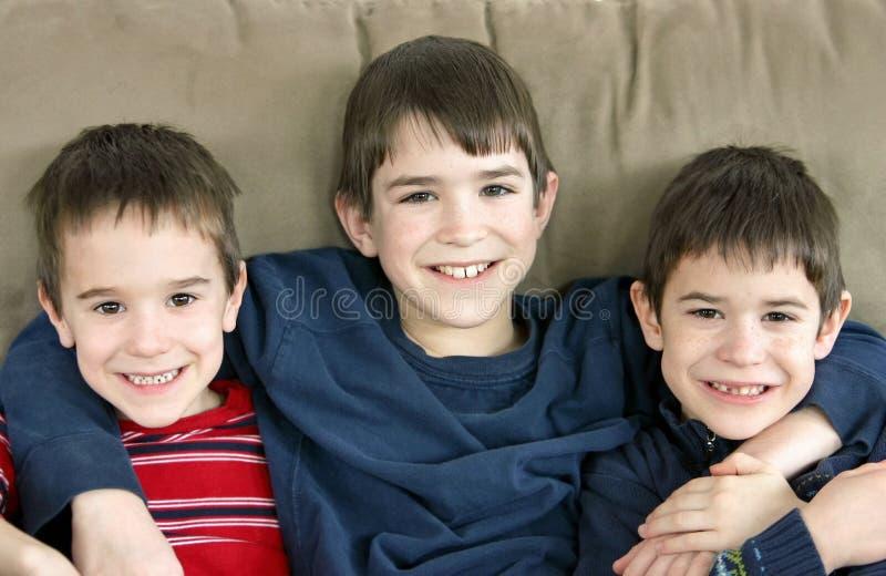 Irmãos imagens de stock