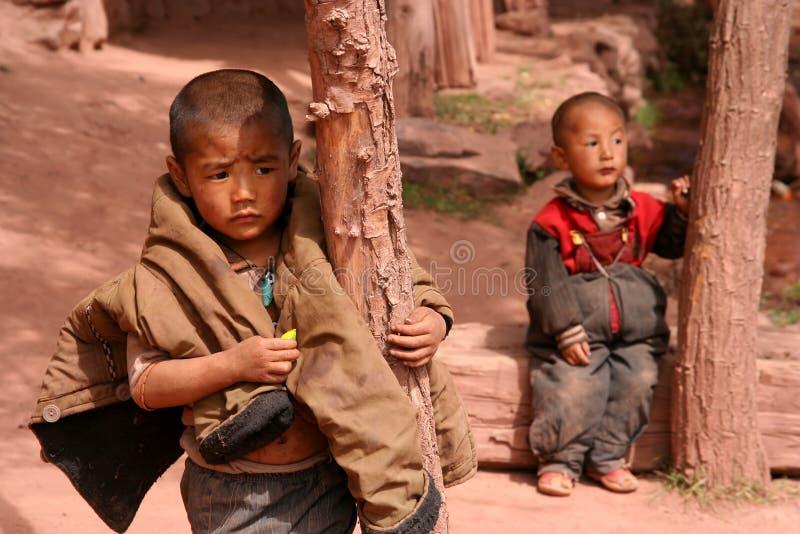 Irmãos tibetanos imagem de stock