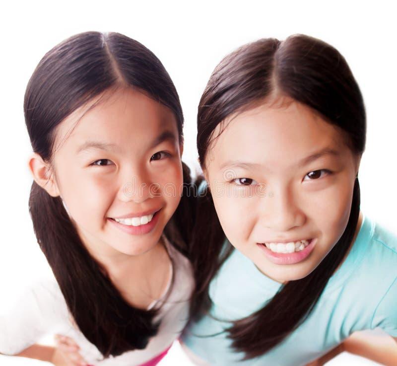 Irmãs bonitas imagens de stock royalty free