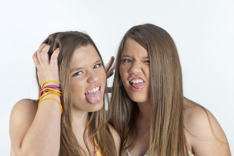 Irmãs gêmeas imagens de stock royalty free